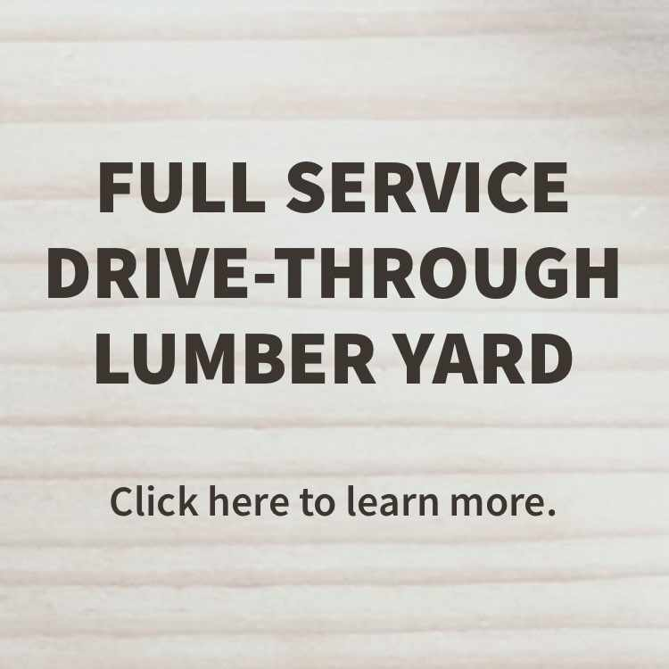 More about the drive-through lumber yard at Dalton Co it Center