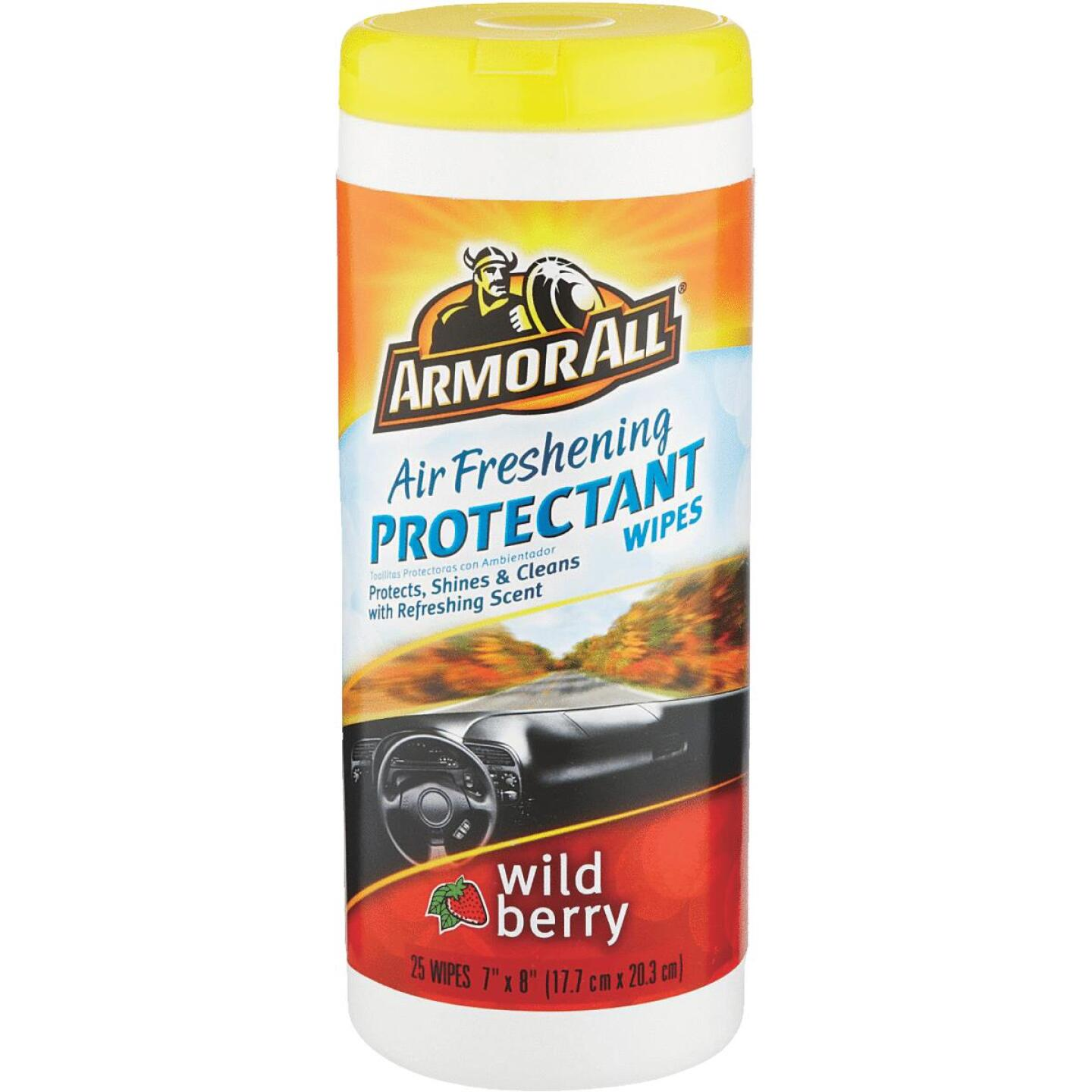 Armor All Wild Berry Scent Wipe Protectant Wipe Image 1
